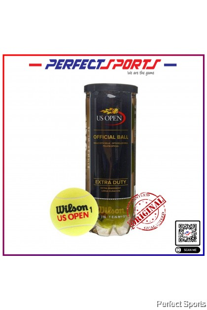 {LIMITED} Perfect Sports - Wilson US Open Official Tennis Balls [100% Genuine]