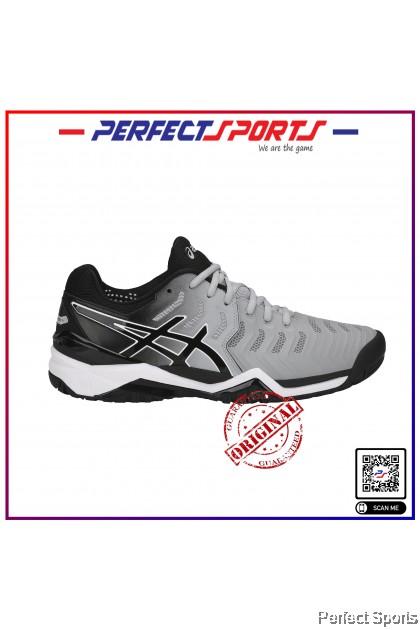 Perfect Sports - Asics Gel-Resolution 7 Grey/Black (Unisex) [100% Genuine]