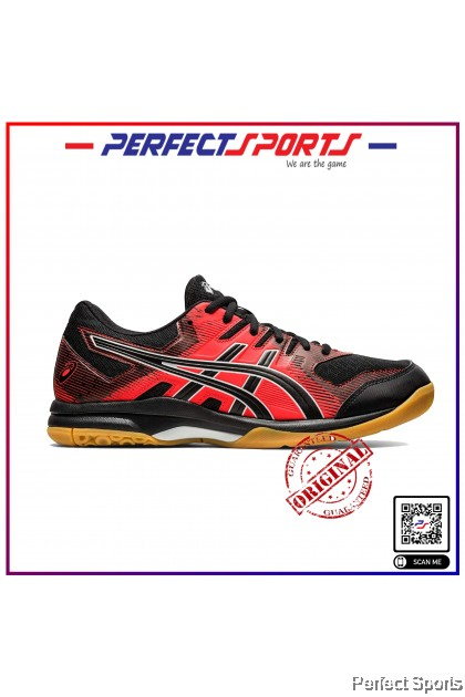 Perfect Sports - Asics Gel Rocket 9 - Black/Flash Red [100% Genuine]