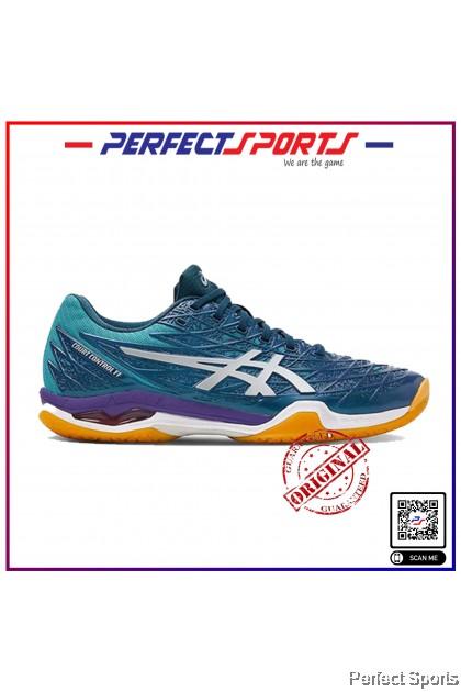 Perfect Sports - Asics Court Control FF Techno Cyan/Silver [100% Genuine]