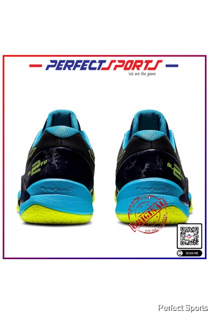 Perfect Sports - Asics Gel Blast FF2 Peacoat/Safety Yellow [100% Genuine]