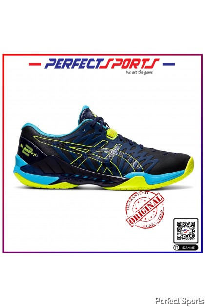 Perfect Sports - Asics Gel Blast FF2 Peacoat/Safety Yellow [100% Genuine]