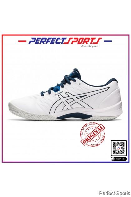 [Free Shoe Bag + Sock] Perfect Sports - Asics Gel Blast FF2 White/Reborn Blue [100% Genuine]