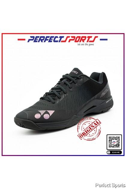 [Free Shoe Bag + Sock]  Yonex Power Cushion Aerus Z (Men) Dark Gray Badminton