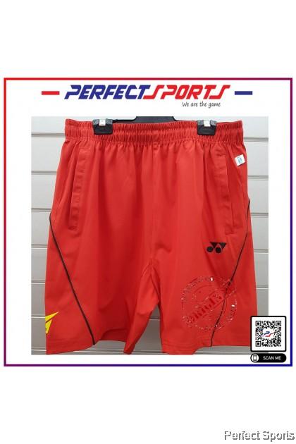 Yonex Training shorts Red LINDAN (Men's shorts)