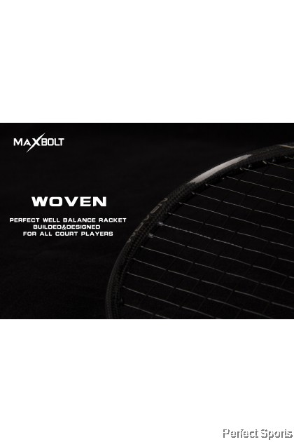 [Free String + Grip + Cover] Maxbolt Black Woven LTD