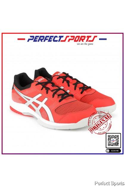 Perfect Sports - Asics Gel Rocket 8 - Fiery Red / Silver [100% Genuine]