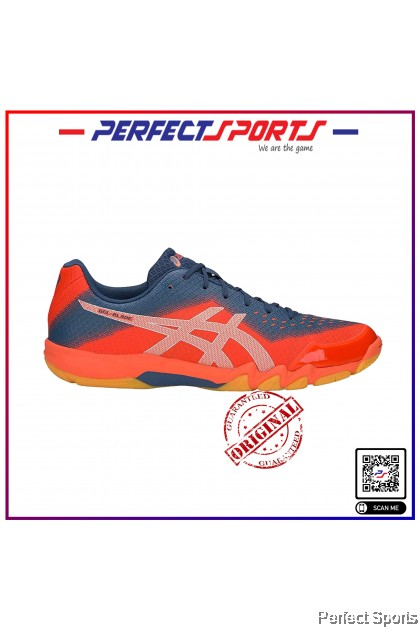 Perfect Sports - Asics Gel Blade 6 Nova Orange /Silver [100% Genuine]