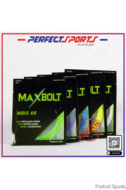 Perfect Sports - Maxbolt MBS 66 (0.66mm) - Japan [100% Genuine]